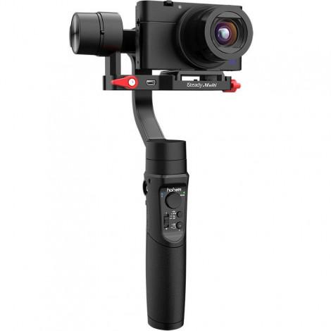 Универсальный трёхосевой электронный стабилизатор стедикам HOHEM iSteady Multi для компактных камер, смартфонов и экшн камер
