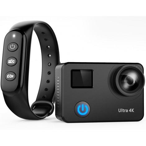 Экшн камера NOVELEKA NC3-170 с пультом и объективом 170 градусов